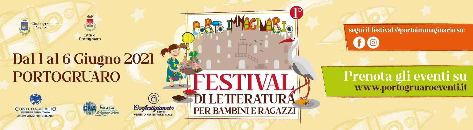 Immagine PortoImmaginario Festival di letteratura per bambini e ragazzi